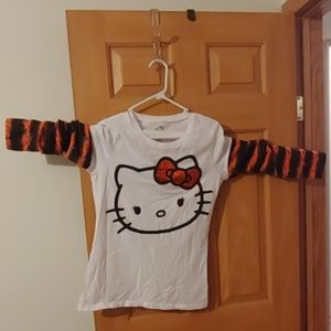 Hello Kitty Halloween long sleave T-shirt Jrs. XL